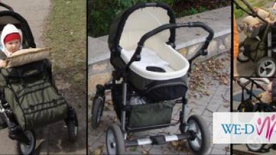 Sprzedam za 450 zł wózek 3w1 Omega Hebart+torba - najlżejszy na rynku !!!+GRATIS