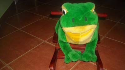 sprzedam żabę na biegunach
