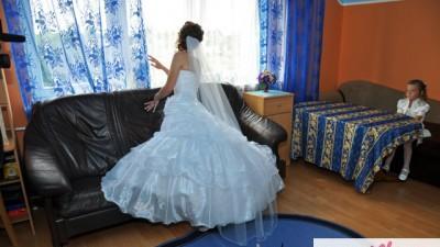Sprzedam zjawiskową suknię ślubną 34/36 + gratisy!