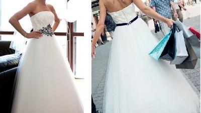 Sprzedam zjawiskową suknię ślubną Sposa model eto  typu Princessa