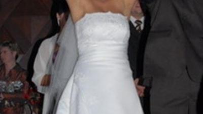 Sprzedaż pięknej sukni ślubnej
