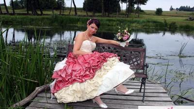 Spzredqm suknie slubna z anglii