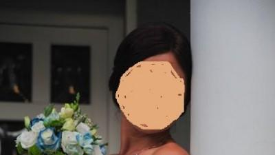 Stylowa, elegancka suknia, rozm. 36-38