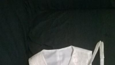 Stylowa kamizelka ślubna