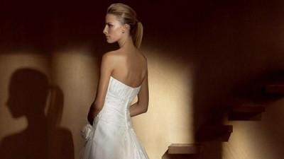 Subtelna i romantyczna suknia ślubna