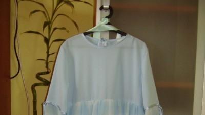 Sukienka błękitna rozm 146