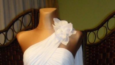 sukienka do ślubu cywilnego z likwidacji sklepu