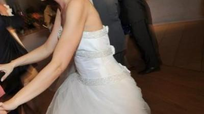 Sukienka Kendra (Gala) + welon + bolerko + buty 38