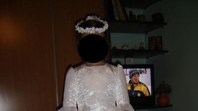sukienka komunijna 140-146 cm
