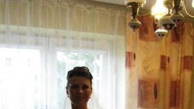 Sukienka ślubna-gorset + spódnica