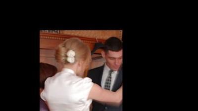 sukienka ślubna plisowana ecru rozm.38