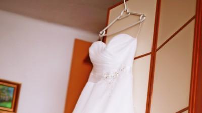 sukienka ślubna plus buty gratis