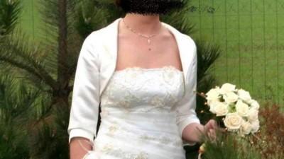 Sukienka ślubna - rozm 36-38 - stan idealny!!!!