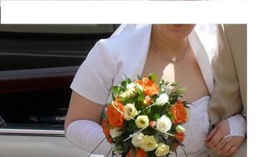 Sukienka ślubna  rozmiar 41-42 okazja