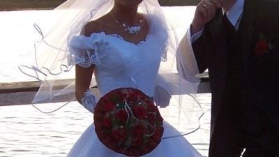 Sukienka ślubna, rozmiar XS(34)