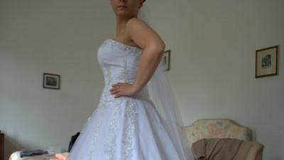 Sukienka ślubna typu proncessa roz. 38-42