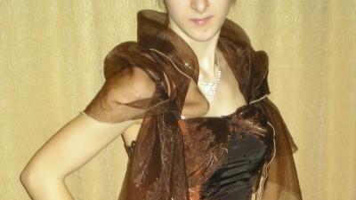 Sukienka Wieczorowa + Naszyjnik z bransoletką GRATIS