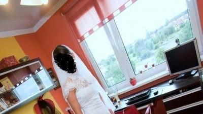 Suknia Annais Bridal model 'Donna' Biała + welon