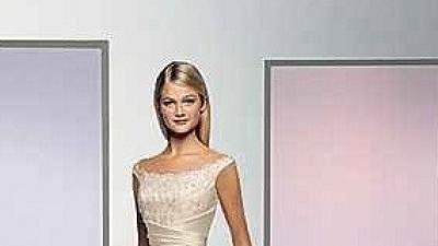 Suknia ATELIER DIAGONAL+idealnie dopasowane do sukni buty z satyny
