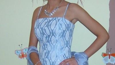Suknia balowa gorset