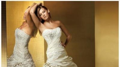 Suknia Benjamin Roberts 966 w idealnym stanie prana w salonie Tylko ONA