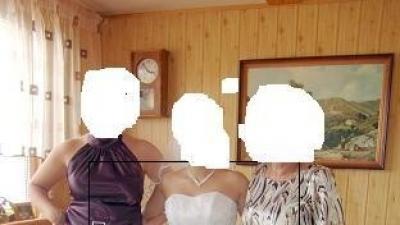 Suknia biała,gorset+spudnica,srebne dodatki gratis welon