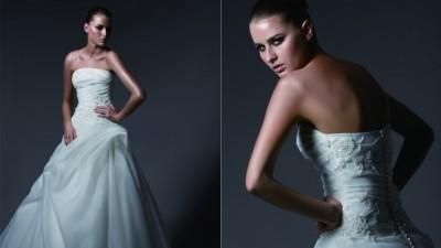 Suknia Blue Ashford + dodatki