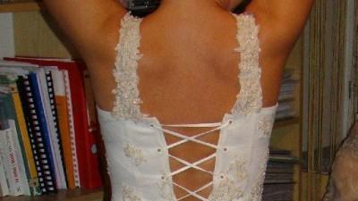 Suknia ecru 38, SPOSABELLA model BOLOZANO 524