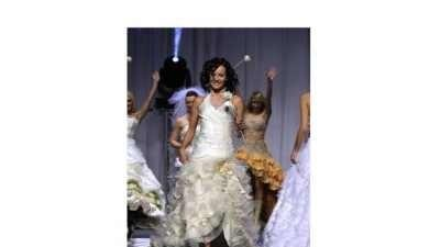 SUKNIA emmi mariage JANESA W STYLU FLAMENCO