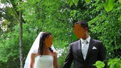 *** SUKNIA EMMI MARIAGE jasny ecru***