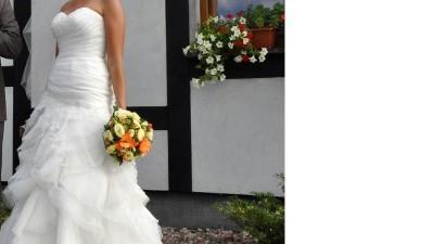 Suknia Emmi Mariage Vanilla - serdecznie polecam - będziesz wyglądać zjawiskowo