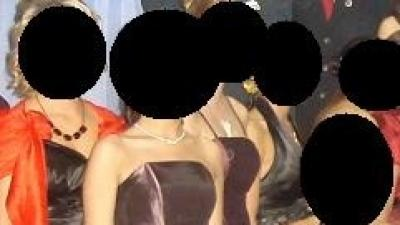 Suknia fioletowa w rozmiarze 34