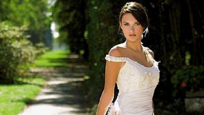 Suknia firmy Margarett model Malve z kolekcji 2006