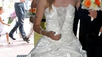 Suknia firmy  slubna izabe lr  36