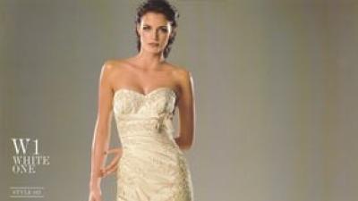 Suknia firmy White One model 167.