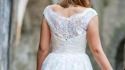 suknia GALA krótka