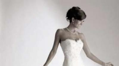 suknia koronkowa