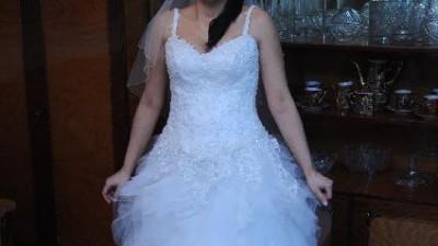Suknia LILY- firmy ANGEL-rozm 36-38-40