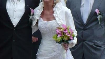 Suknia Maggie Sottero LEONI, rozm. 36