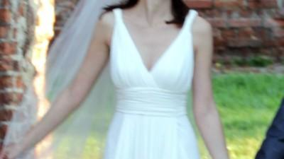 Suknia Magia Pronovias w stylu greckim 38