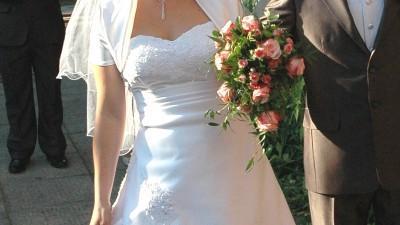Suknia Marissa biała rozm. 38-40