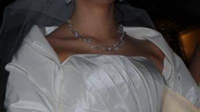 Suknia MYSTIC Lucky - perłowe ecru - kolekcja 2010