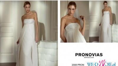 Suknia Nares z hiszpańskiego domu mody Pronovias!