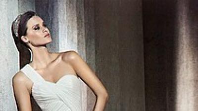 Suknia PRONOVIAS model PARIS 2012 R. 34/36 z salonu MADONNY