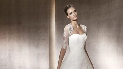 suknia pronovias model PERGOLA śnieżna biel