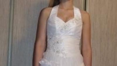 suknia + rękawiczki +korona