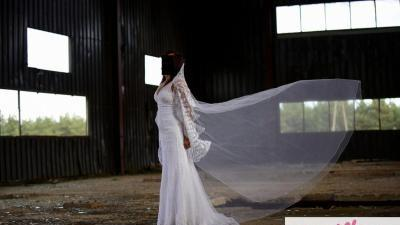 Suknia San Patrick Bagdad z welonem