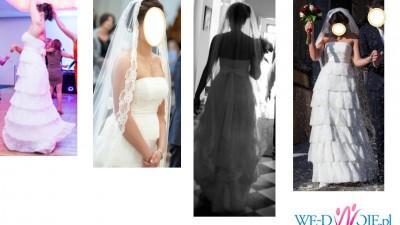 suknia Savannah z hiszpańskiej koronki