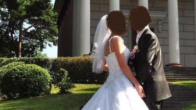 Suknia Sincerity 3339, biała, rozm.34