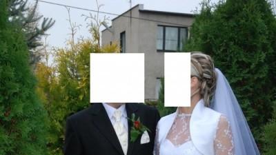 SUKNIA ŚLUBA, 2 WELONY, BOLERKO